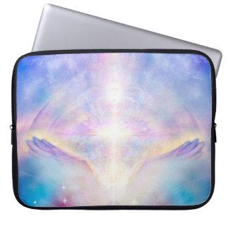 H117 Adele Angel Top Laptop Sleeve