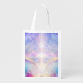 H117 Adele Angel Top Reusable Grocery Bag