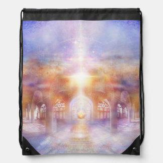 H119 Mosque Drawstring Bag