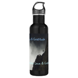 H2o Bottle- Love & Gratitude 710 Ml Water Bottle