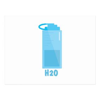 H2O Bottle Post Card