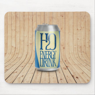 h2o energy drink mouse pad