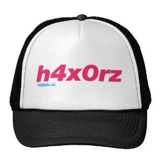 h4x0rz trucker hats