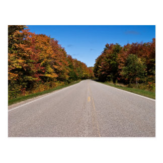H58 In Fall Colors Postcard