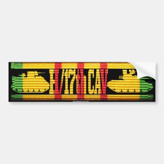H/17th Cav Track & Tank Bumper Sticker
