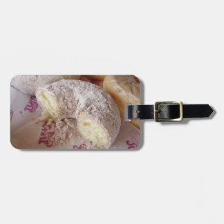 H.A.S. Arts luggage tag, Pittsburgh Doughnuts Luggage Tag