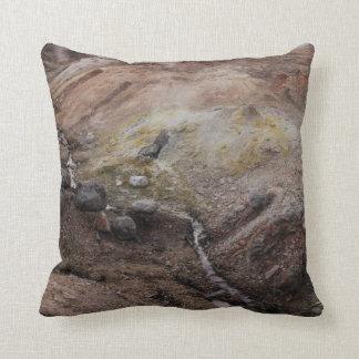 H.A.S. Arts Yellowstone Sulphur Springs pillow
