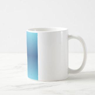 H Bi-Linear Gradient - Light Blue and Dark Blue Coffee Mug