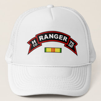 H Co, 75th Infantry Regiment - Rangers Vietnam Trucker Hat