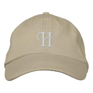 H EMBROIDERED HAT
