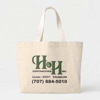 H&H Contractors Inc. Tote Bags