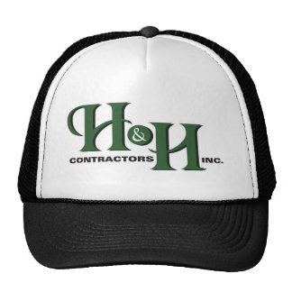 H&H Contractors Inc. Front Logo Products Cap