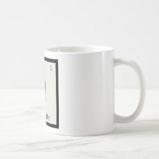 H - Horseradish Condiment Chemistry Periodic Table Basic White Mug