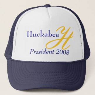 H, Huckabee, President 2008 Trucker Hat