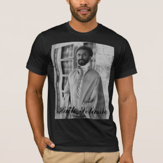 H.I.M. Haile Selassie. T-Shirt