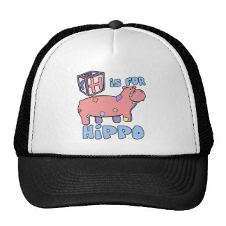 H is for Hippo Hat