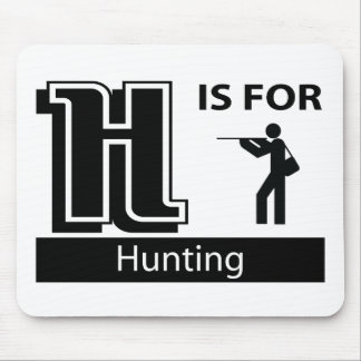 H Is For Hunting Mouse Pad