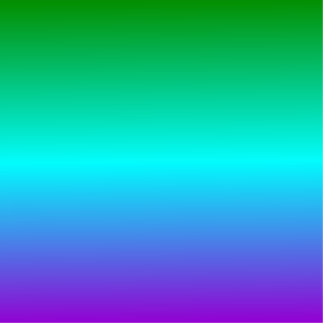 H Linear Gradient - Green Cyan Violet Photo Cut Outs