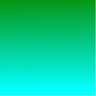 H Linear Gradient - Green to Cyan Photo Cutouts