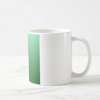 H Linear Gradient - Light Green to Dark Green Coffee Mug