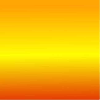 H Linear Gradient - Orange Yellow Red Photo Cut Out
