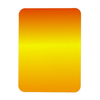 H Linear Gradient - Red Yellow Orange Magnets