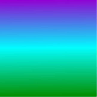 H Linear Gradient - Violet Cyan Green Cut Outs