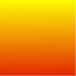 H Linear Gradient - Yellow to Red Cut Outs