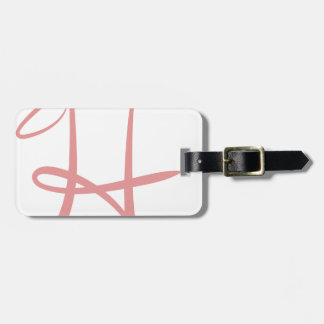 H LUGGAGE TAG