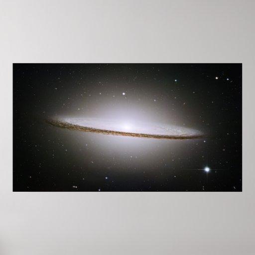 H Majestic Sombrero Galaxy M104 Print