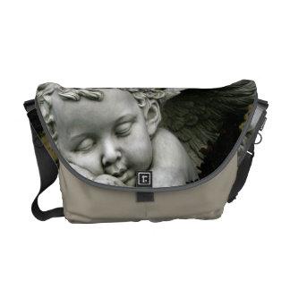 "H Messenger Bag ""Cherub Sleeping"""