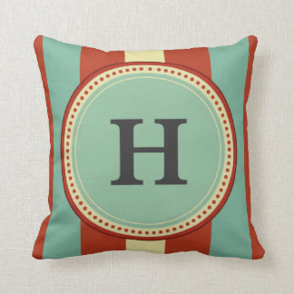 'H' Monogram Cushion