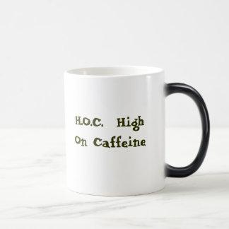 H.O.C.  High On Caffeine Magic Mug