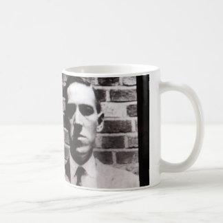 H.P. Lovecraft portrait mug
