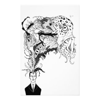 H.P. Lovecraft's monsters Personalised Stationery