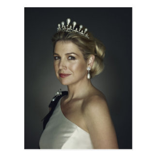 H.R.H. Princess Maxima of the Netherlands Postcard