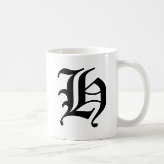 H-text Old English Mug
