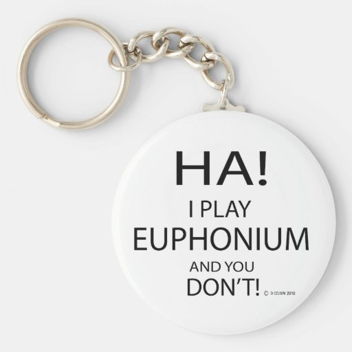 Ha Euphonium Key Chains