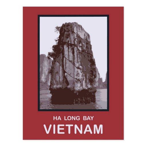 Ha Long Bay Vietnam Postcard