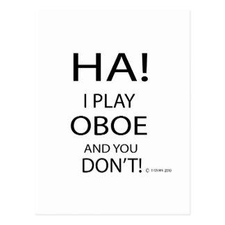 Ha Oboe Postcard