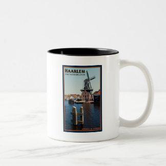 Haarlem - Adriaan Windmill Two-Tone Coffee Mug