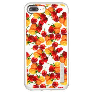 Habanero Chilies Red Peppers Orange Hot Food Incipio DualPro Shine iPhone 8 Plus/7 Plus Case