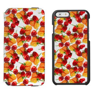 Habanero Chilies Red Peppers Orange Hot Food Incipio Watson™ iPhone 6 Wallet Case