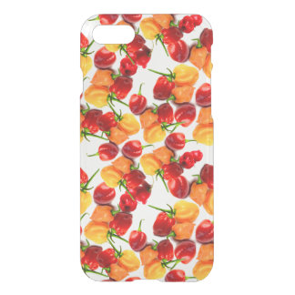 Habanero Chilies Red Peppers Orange Hot Food iPhone 8/7 Case