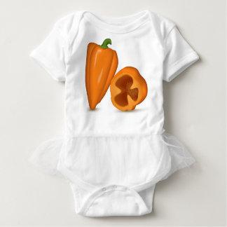 Habanero Peppers Baby Bodysuit