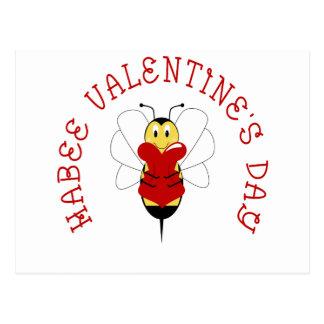 Habee Valentine's Day Postcard