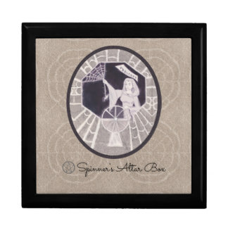 Habetrot The Spinning Goddess Pagan Witch Gift Box
