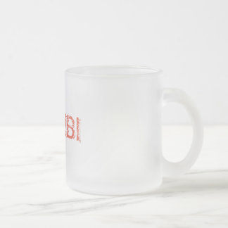 Habibi Frosted Glass Coffee Mug