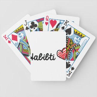 Habibti Bicycle Playing Cards