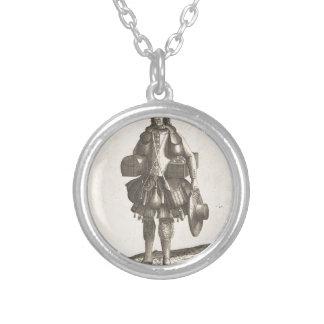 Habit de Mallettier Coffrettier Silver Plated Necklace